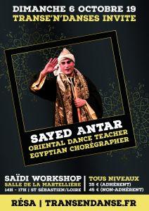 Sayed Antar - stage de Saïdi